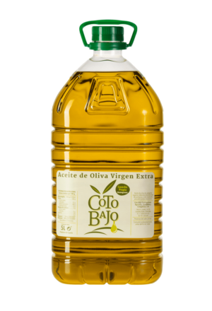 garrafa 5 l aceite de oliva virgen extra cotobajo